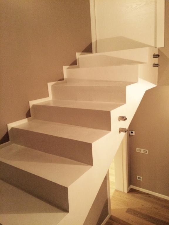 Veneta pose massetto sabbia cemento treviso vicenza - Scale in resina prezzi ...
