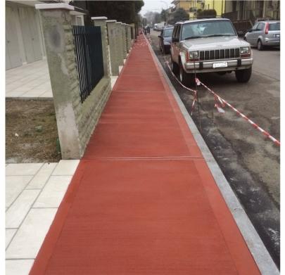 Veneta pose massetto sabbia cemento treviso vicenza - Cemento colorato per esterni costo ...